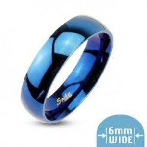 Modrý prsten s vysokým leskem H18.4
