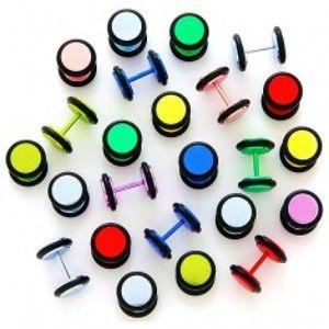 Neonový falešný plug anodizovaný s gumičkami I1.15/18